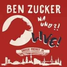 Ben Zucker: Na und?! Live! (Deluxe-Edition), CD