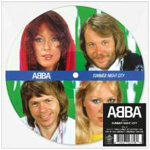 """Abba: Summernight City (Limited-Edition) (Picture Disc), Single 7"""""""
