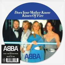 """Abba: Does Your Mother Know (Limited-Edition) (Picture Disc), Single 7"""""""