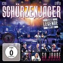 Schürzenjäger: Die Legende lebt: 50 Jahre Rebellion in den Alpen, 1 CD und 1 DVD