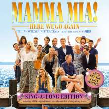 Filmmusik: Mamma Mia! Here We Go Again (Sing-A-Long-Version), 2 CDs