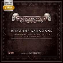 Berge Des Wahnsinns U.A.Horrorgeschichten-Box 3, 2 MP3-CDs