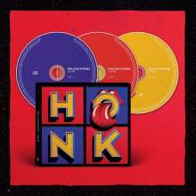The Rolling Stones: Honk (Limited-Deluxe-Edition), 3 CDs