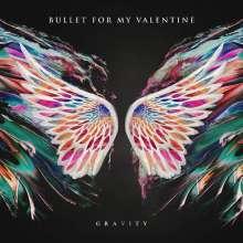"Bullet For My Valentine: Gravity/Radioactive (Limited-Edition) (Blue Swirl Vinyl), Single 10"""