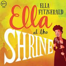 Ella Fitzgerald (1917-1996): Ella At The Shrine: Prelude To Zardi's (180g) (45RPM), LP