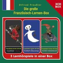 Die Große Französisch-Lernen-Box (3-CD Hspbox), 3 CDs