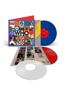 "The Who: Who (180g) (Limited Edition) (LP 1: Blue Vinyl/LP 2: White Vinyl/10"": Red Vinyl) (45 RPM), 3 LPs"