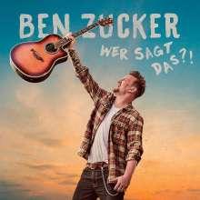 Ben Zucker: Wer sagt das?!, CD