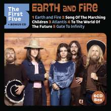 Earth & Fire: The First Five (+ Bonus-CD) (Limited Edition), 6 CDs