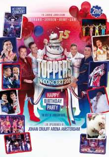 Toppers: Toppers In Concert 2019: Happy Birthday Party, 2 DVDs