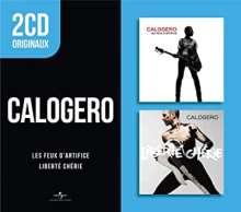 Calogero: Les Feux D'Artifice / Liberté Chérie (2 Originals), 2 CDs
