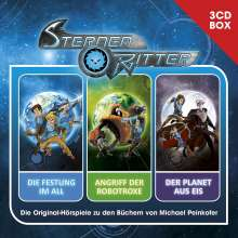 Sternenritter-3-CD Hörspielbox, 3 CDs