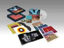 The Chemical Brothers: Surrender 20 (Boxset) (20th Anniversary) (Limited Edition), 4 LPs und 1 DVD