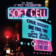 Soft Cell: Say Hello, Wave Goodbye (Live At The O2 Arena 2018), 2 CDs und 1 DVD