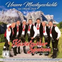 Kastelruther Spatzen: Unsere Musikgeschichte 1983 - 2019 (Limitierte nummerierte Box), 54 CDs