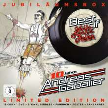 "Andreas Gabalier: Best Of Volks-Rock'n'Roller (Jubiläumsbox), 18 CDs, 2 Singles 7"" und 1 DVD"