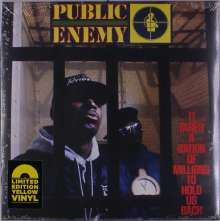Public Enemy: It Takes A Nation Of Millions To Hold Us Back (Limited Edition) (Yellow Vinyl), LP