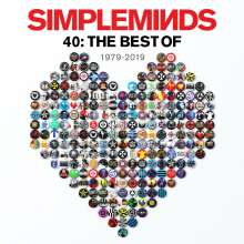 Simple Minds: 40: The Best Of Simple Minds, 2 LPs
