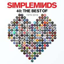 Simple Minds: 40: The Best Of Simple Minds (Limited Deluxe Edition), 3 CDs