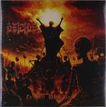 Deicide: To Hell With God (Fire-Splatter Vinyl), LP