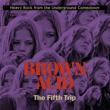 Brown Acid: The Fifth Trip, CD
