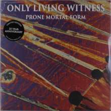 Only Living Witness: Prone Mortal Form (25th Anniversary) (Limited-Edition) (Orange/Purple Vinyl), LP