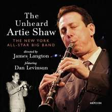 The New York All-Star Big Band: The Unheard Artie Shaw, CD