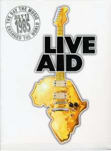 Live Aid 1985, 4 DVDs