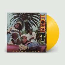 Ice-T: Rhyme Pays (Translucent Yellow Vinyl), LP