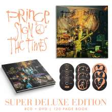 Prince: Sign O' The Times (Super Deluxe Edition), 8 CDs und 1 DVD