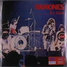 Ramones: It's Alive (Live) (remastered) (Red & Blue Vinyl), 2 LPs