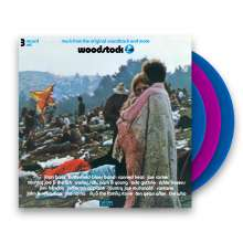 Woodstock - Music From The Original Soundtrack And More (Limited-Edition) (Blue + Pink Vinyl)