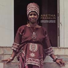Aretha Franklin: Amazing Grace: The Complete Recordings (180g), 4 LPs