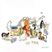 Crosby, Stills, Nash & Young: So Far (45th Anniversary) (Limited-Edition) (White Vinyl), LP