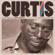 Curtis Mayfield: Keep On Keepin' On: Studio Albums 1970 - 1974 (remastered) (180g), 4 LPs