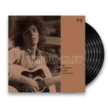 Tim Buckley: The Complete Album Collection 1966 - 1972 (remastered) (Limited-Edition), 7 LPs