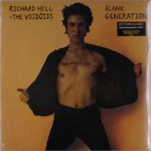 Richard Hell: Blank Generation (remastered) (Limited-Edition) (Orange Vinyl), LP