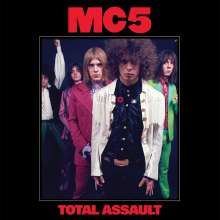 MC5: Total Assault: 50th Anniversary Collection (Limited-Edition) (Red, White & Blue Vinyl), 3 LPs