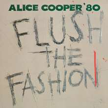 Alice Cooper: Flush The Fashion (Limited-Edition) (Green Swirled Vinyl), LP