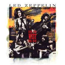Led Zeppelin: How The West Was Won (remastered) (180g) (Super-Deluxe-Box-Set) (Numbered Album Cover Art Print), 4 LPs