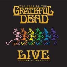 Grateful Dead: The Best Of The Grateful Dead Live Vol.1 (remastered) (180g), 2 LPs
