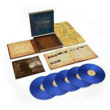 Filmmusik: The Lord Of The Rings: The Two Towers - The Complete Recordings (180g) (Limited-Numbered-Edition) (Blue Vinyl), 5 LPs