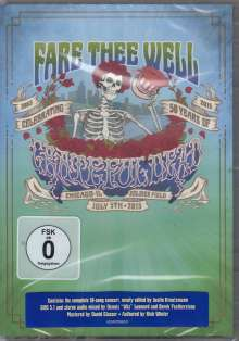 Grateful Dead: Fare Thee Well - July 5th, 2015, 2 DVDs