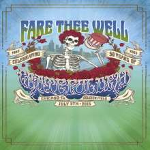 Grateful Dead: Fare Thee Well - July 5th, 2015, 2 Blu-ray Discs