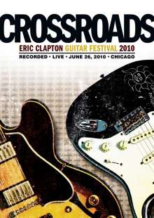 Eric Clapton: Crossroads Guitar Festival 2010 (Amaray Case), 2 DVDs