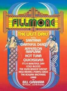 Fillmore: The Last Days 1971, DVD