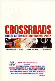Eric Clapton: Crossroads Guitar Festival 2007 (Amaray Case), 2 DVDs