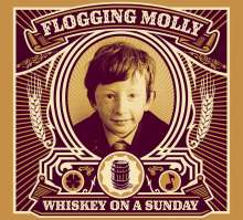Flogging Molly: Whiskey On A Sunday (CD + DVD), CD