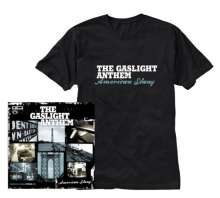 The Gaslight Anthem: American Slang (Limited Edition CD + T-Shirt Gr.M), 2 CDs
