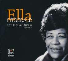 Ella Fitzgerald (1917-1996): Live At Chautauqua Vol.1, CD